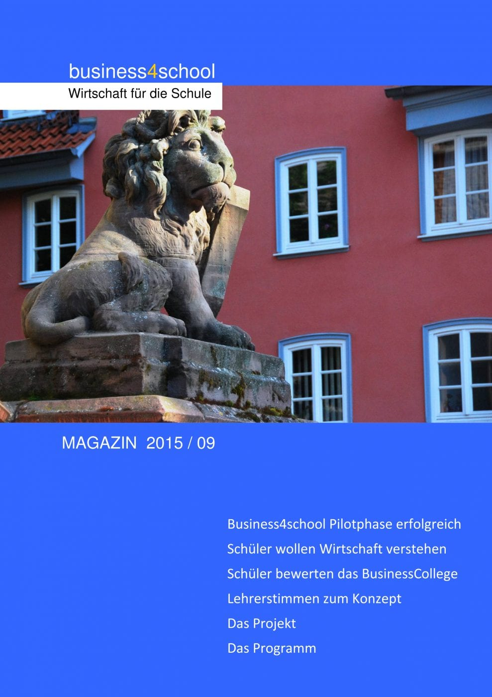 business4school magazin 2015-09